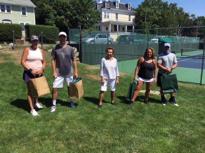Blitz Memorial Tennis Tournament a hit at Bass Rocks