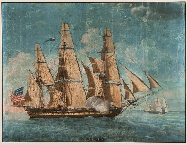Papers shed light on early years of 'Old Ironsides,' Navy