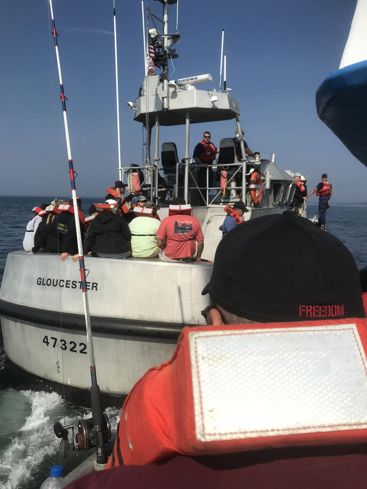 UPDATE II: 40 pulled off charter boat after engine mishap