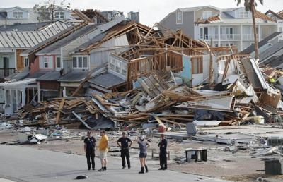 Florida county still in crisis after Michael
