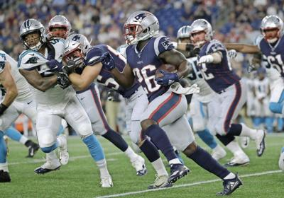 Patriots Michel 'much improved' as pass catcher, coach says