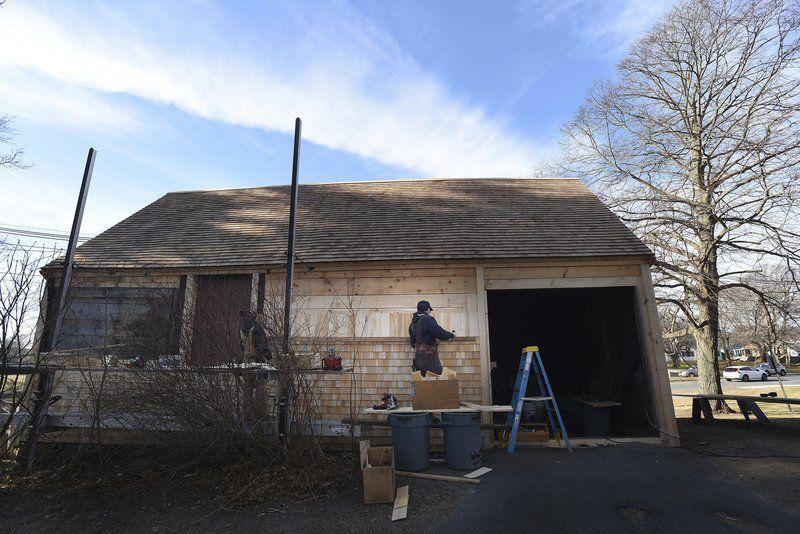 Work at White-Ellery House