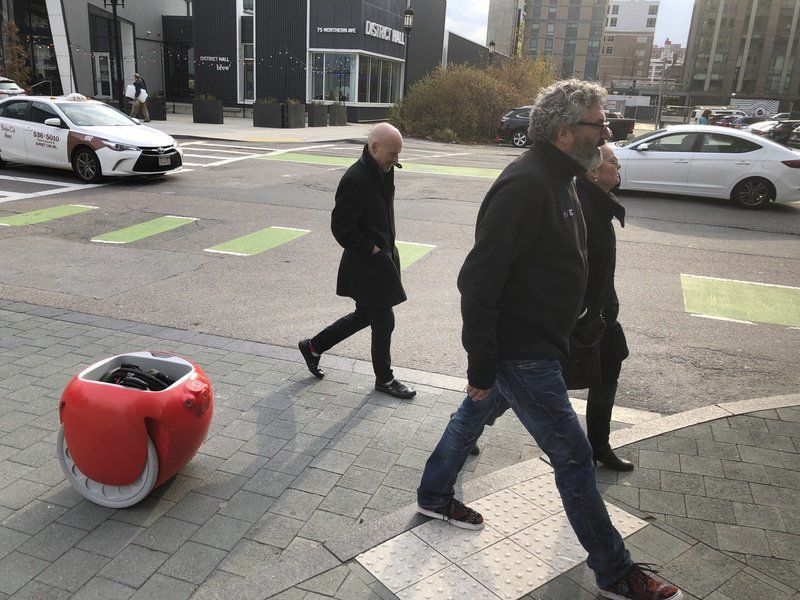Grocery-carrying robots are coming. Do we need them?