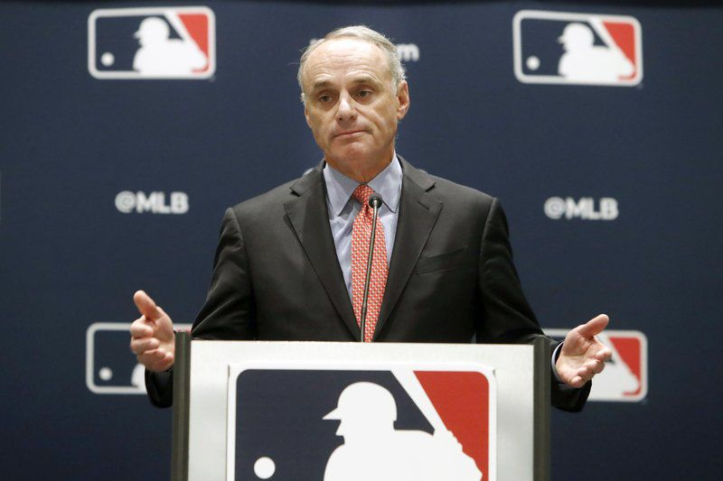 Players counter 70 games, Manfred says deadline nearing
