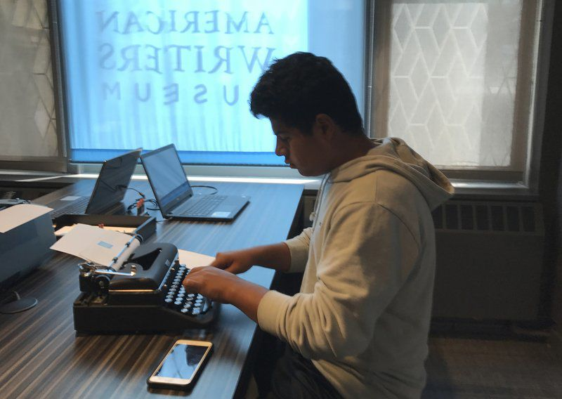Many happy returns: In these high-tech times, love of the typewriter lives on