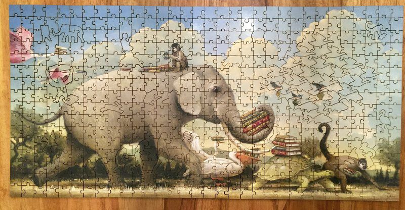 Snapping into place: Jigsaw puzzles attract an ardent following