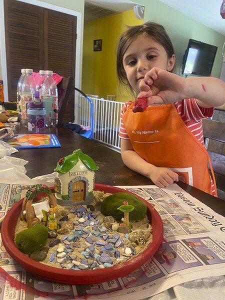 KIDS CORNER: Calling all fairies to Aubrey's new garden
