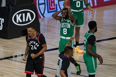 On to Game 7: Raptors survive Celtics in double-OT thriller