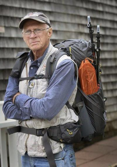 Newburyport man begins 3,000-mile trek to help veterans