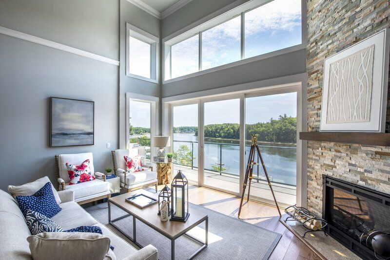 Saving the best for last -- three stunning waterfront Penthouses