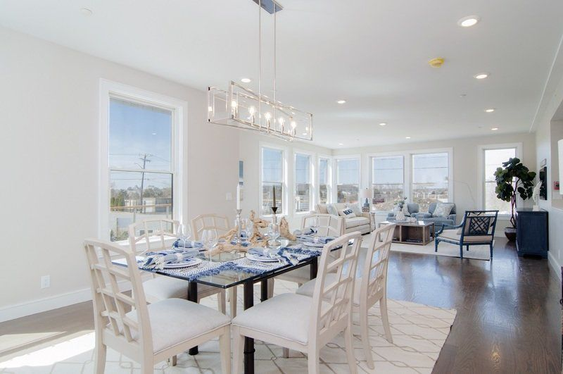 Exciting new construction at Gloucester's Good Harbor Beach One Level Ocean View Living