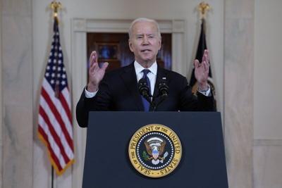 Shribman: Honeymoon over, Biden parries challenges from all sides