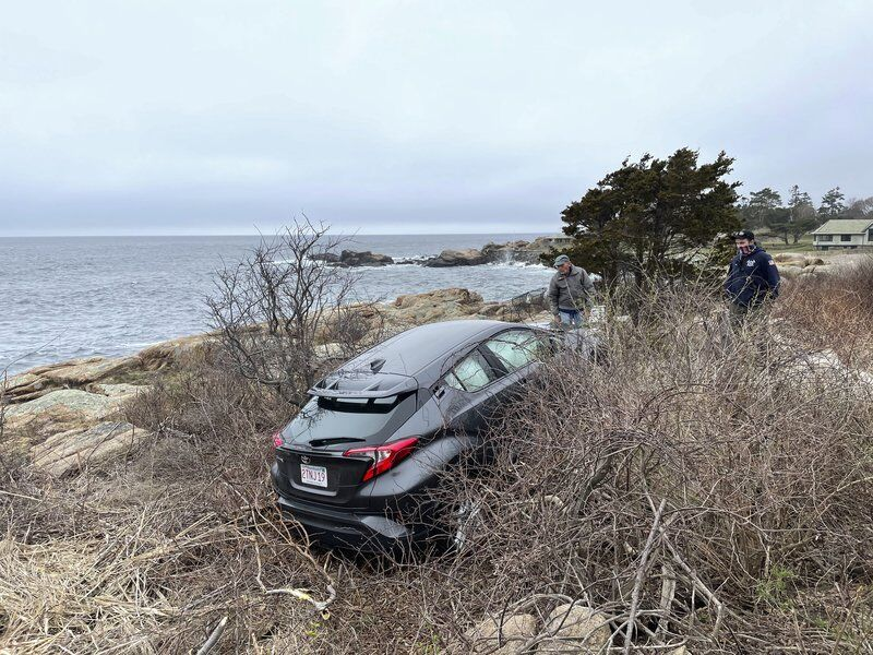 Police/Fire: Man taken to hospital after driving off road