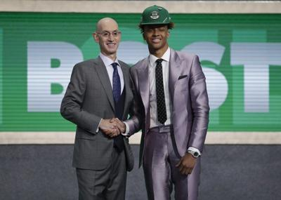Still licking wounds, C's move on with NBA Draft