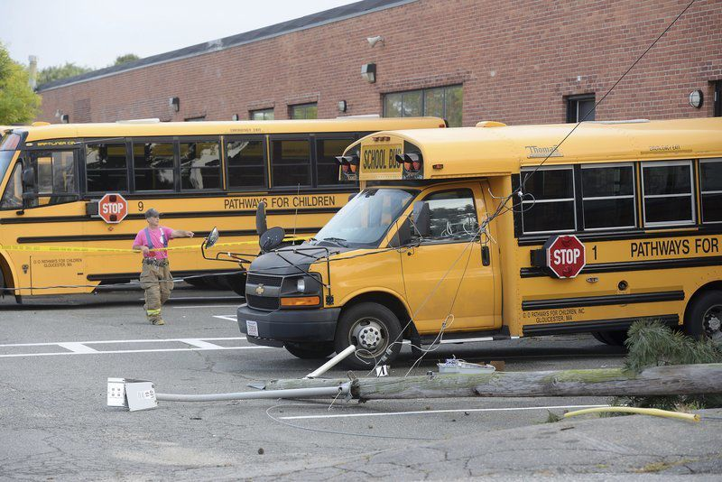 Police/Fire: School bus knocks down utility pole   Local