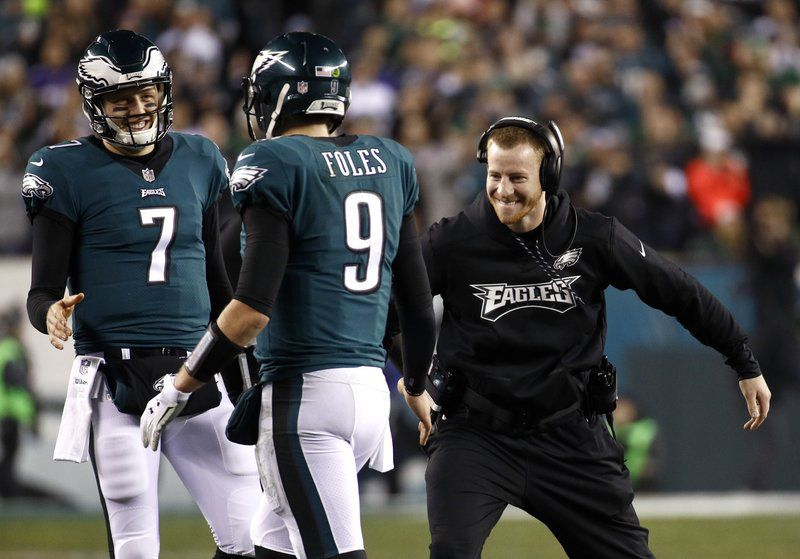 cheap for discount 482f0 cd4d5 An unexpected journey: After losing their MVP, Nick Foles ...