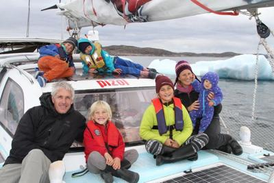 Family on global expedition coming to Gloucester