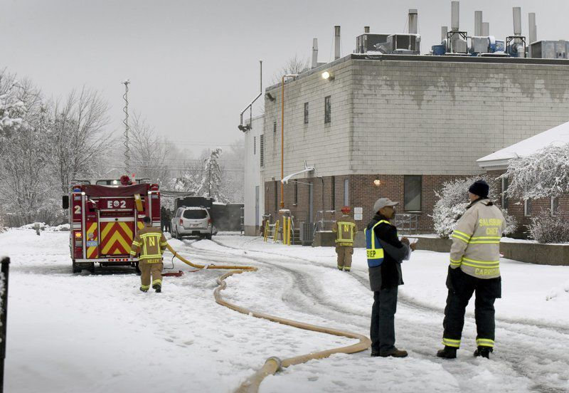 Explosions rock Port factory