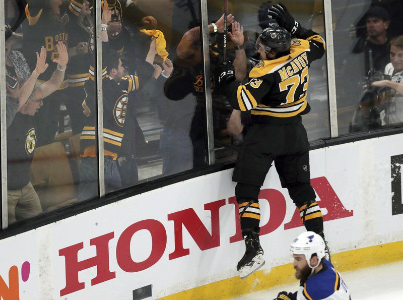 McAvoy must raise game for B's to hoist Cup