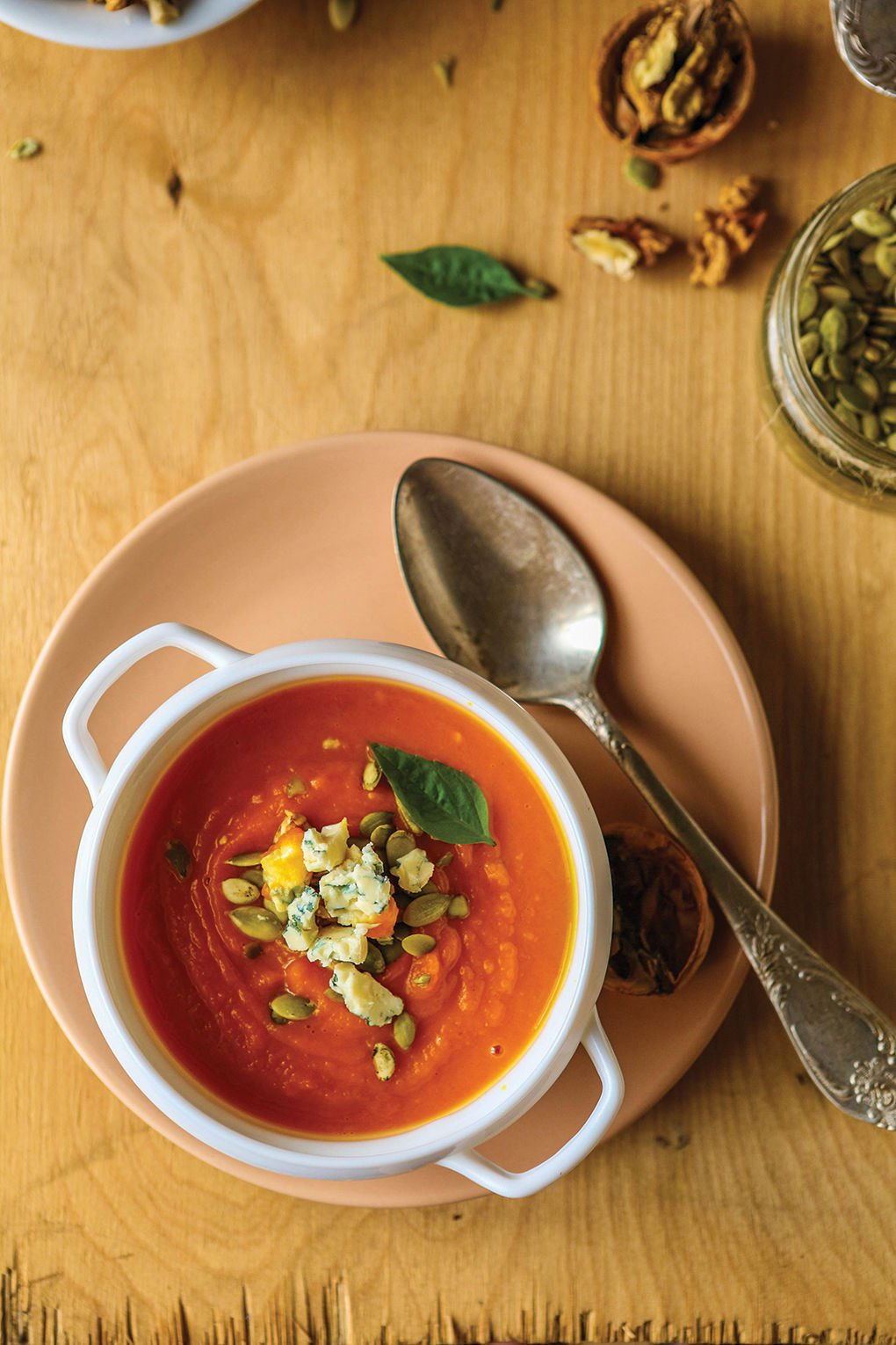 Warm soups for cold days