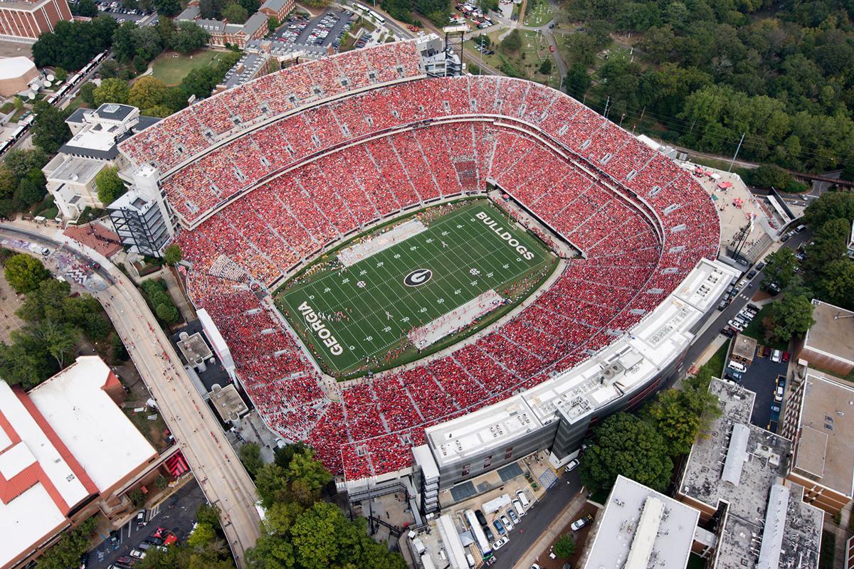 Game day: Athens, Georgia