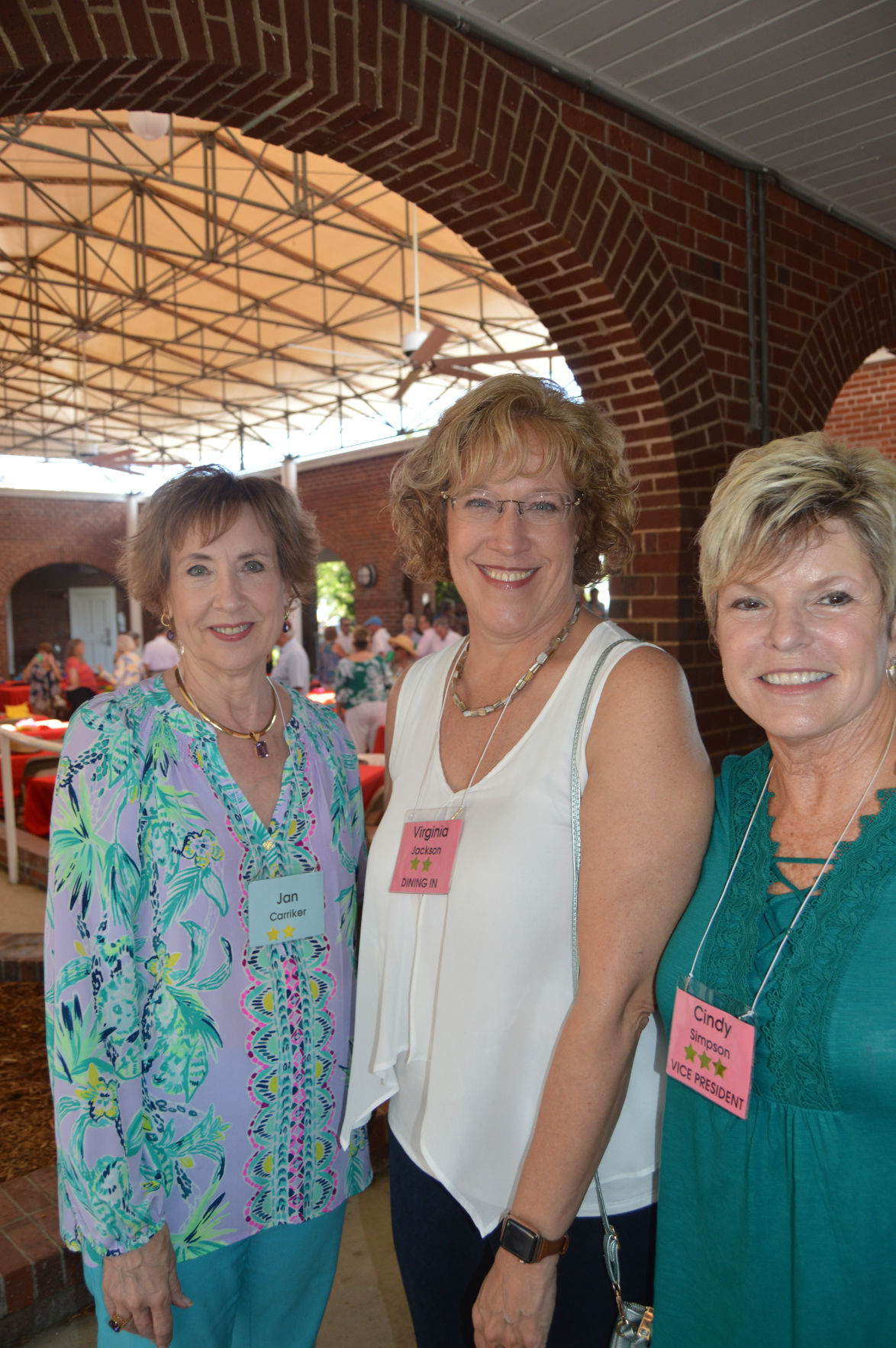 Jan Carriker, left, Virginia Jackson, and Cindy Simpson.JPG