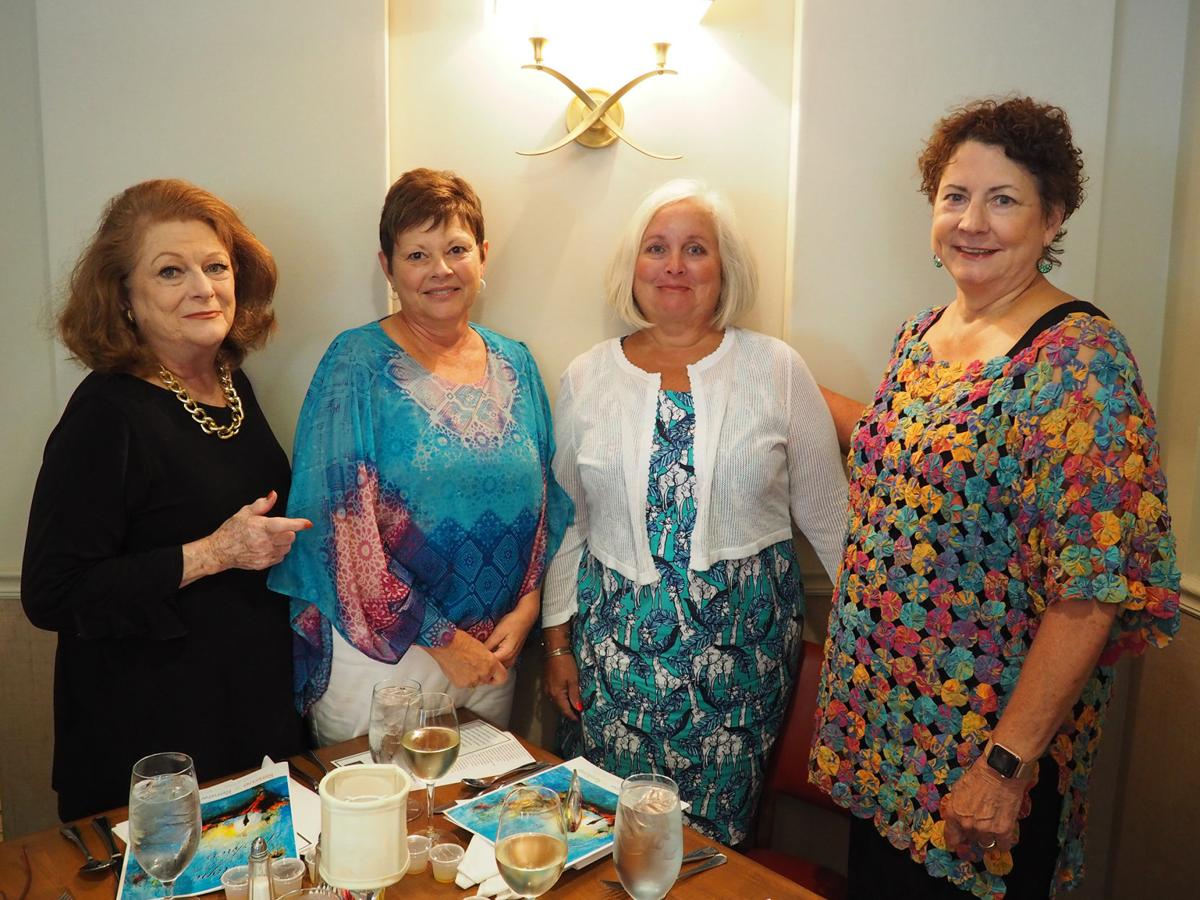 Ladies Who Lunch Dine At Delaney's In July