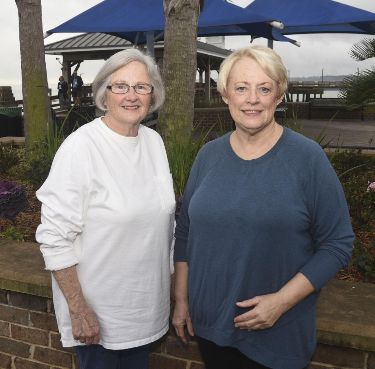 Gail Nagle, left, and Sandy Anderson