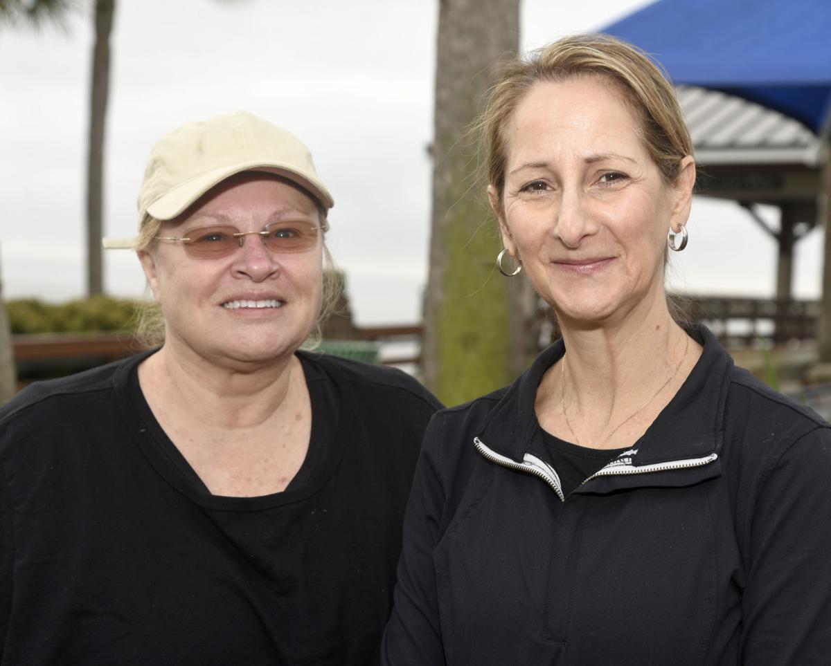 Jane Baker, left, and Connie Shelnutt