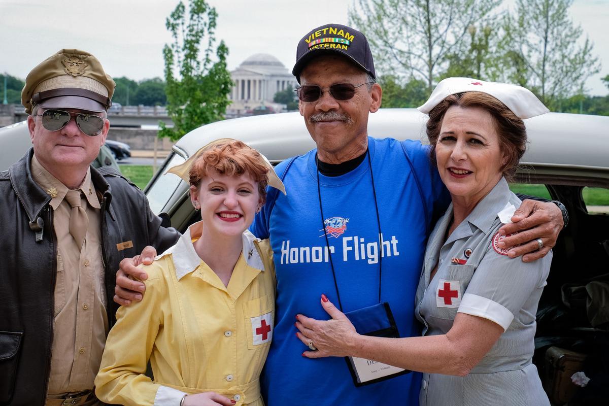 Honor Flight carries vets to Washington