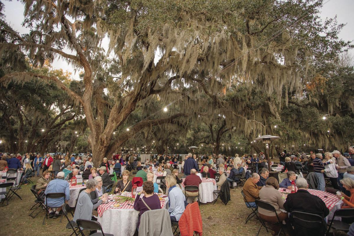 St. Simons Land Trust 20th Annual Oyster Roast