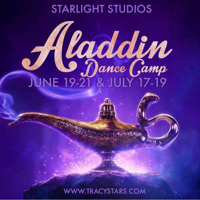 aladdin dance camp