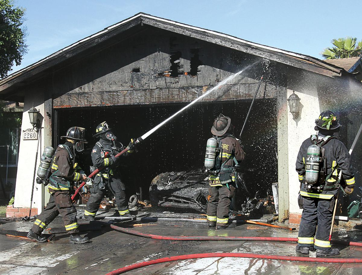 House fire guts garage, torches Corvette | Tracy Press News