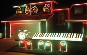 Halloween light show - Golden State Newspapers: Tracy Press