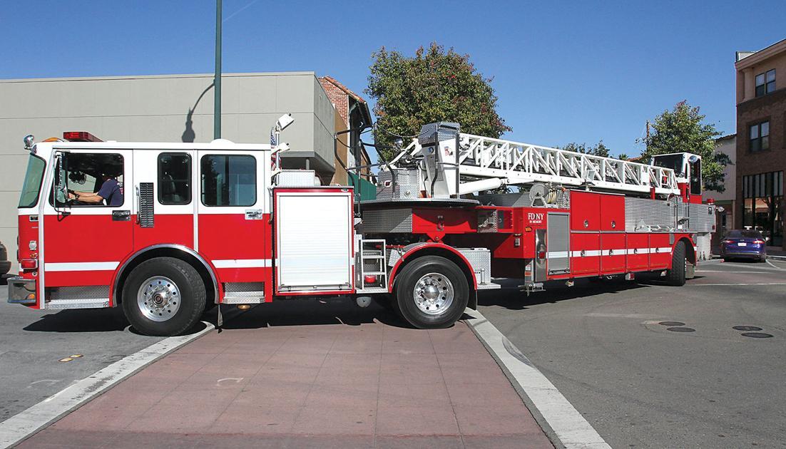 Tiller Truck Joins Fire Fleet Tracy Press News