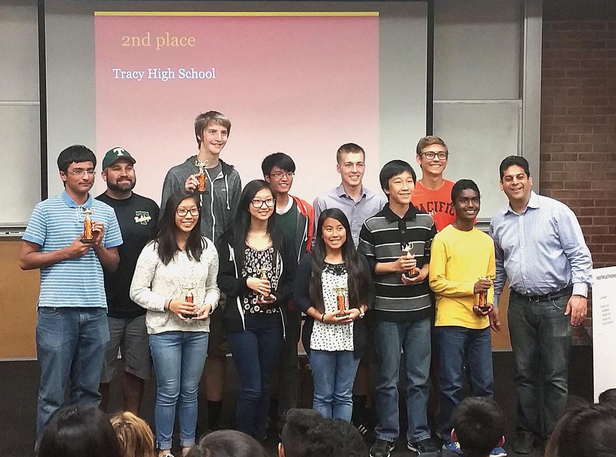 Tracy High second at UOP math competition