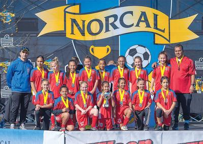 Local team moves up in state cup competition