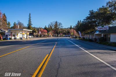 Highway 9 in Ben Lomond