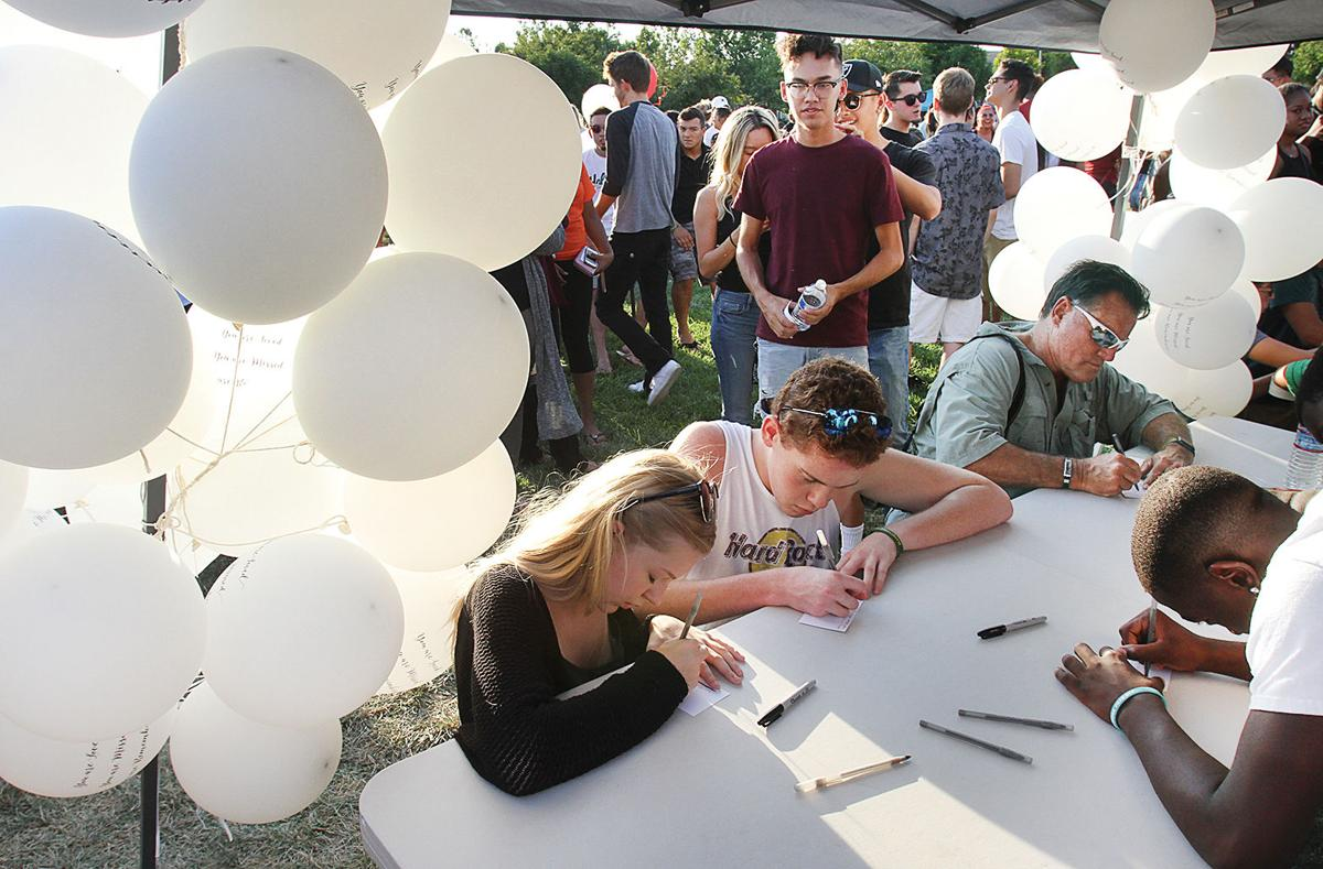 Community says goodbye to local teen   Tracy Press Our Town