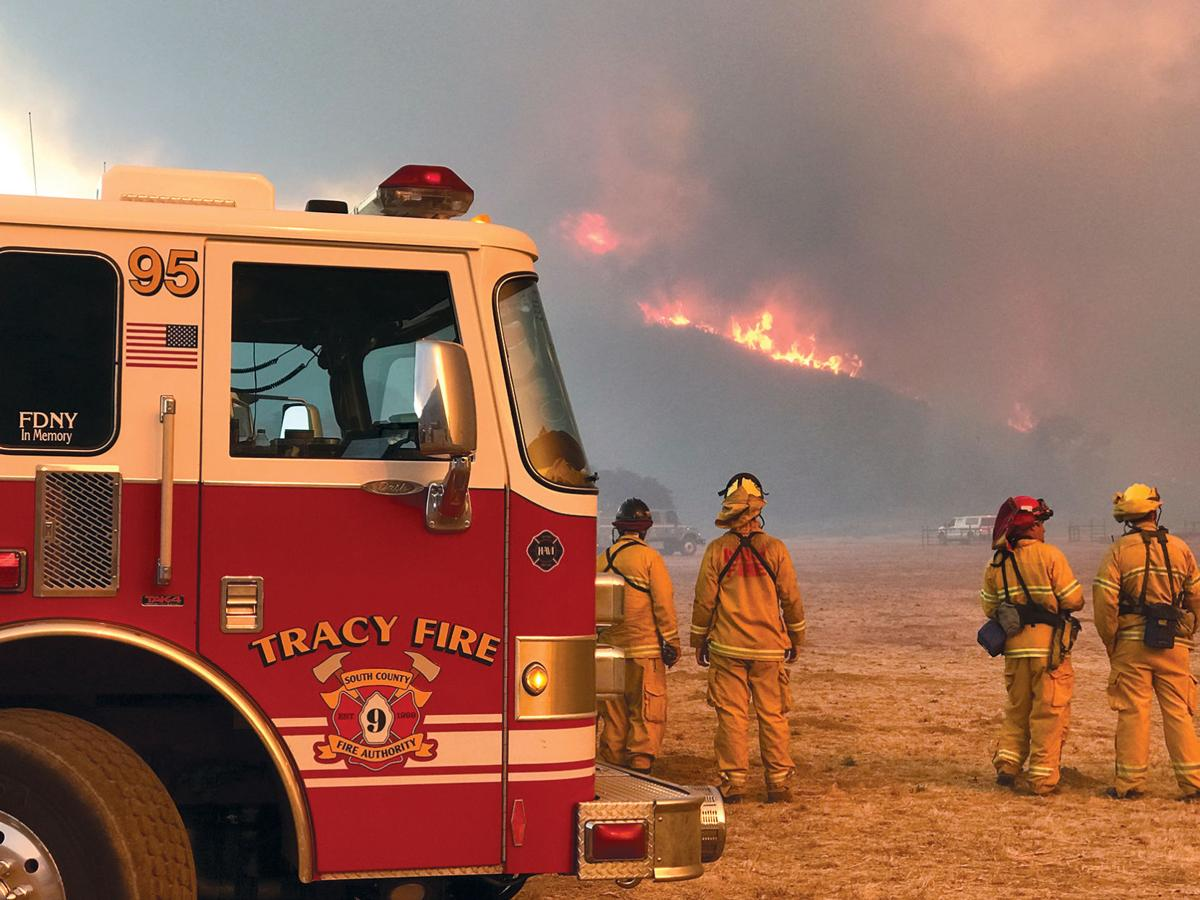 Fighting the Thomas Fire