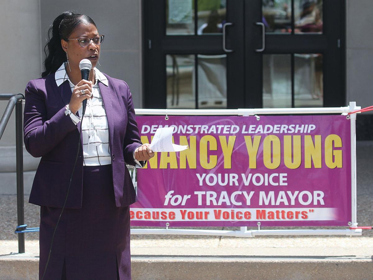 Young enters race for mayor