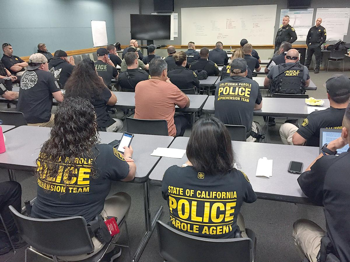 Parole and probation sweep