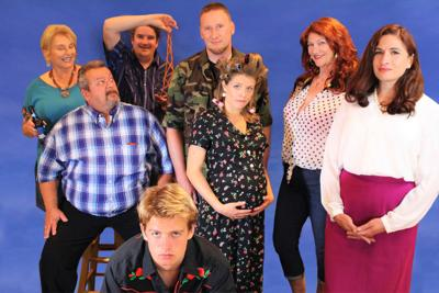 The cast of Sordid Lives