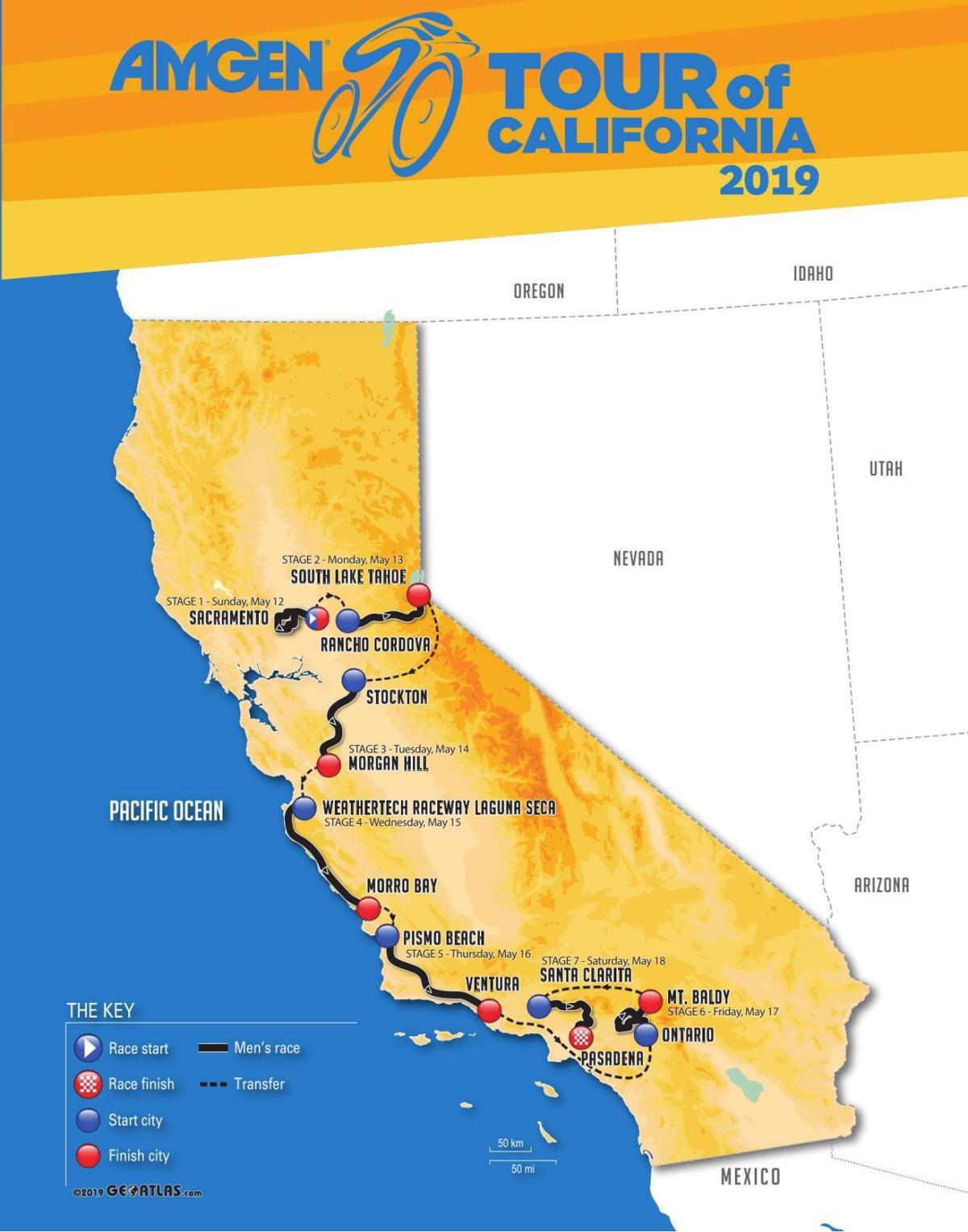 Amgen Tour 2019 2019 Amgen Tour of California | Tracy Press