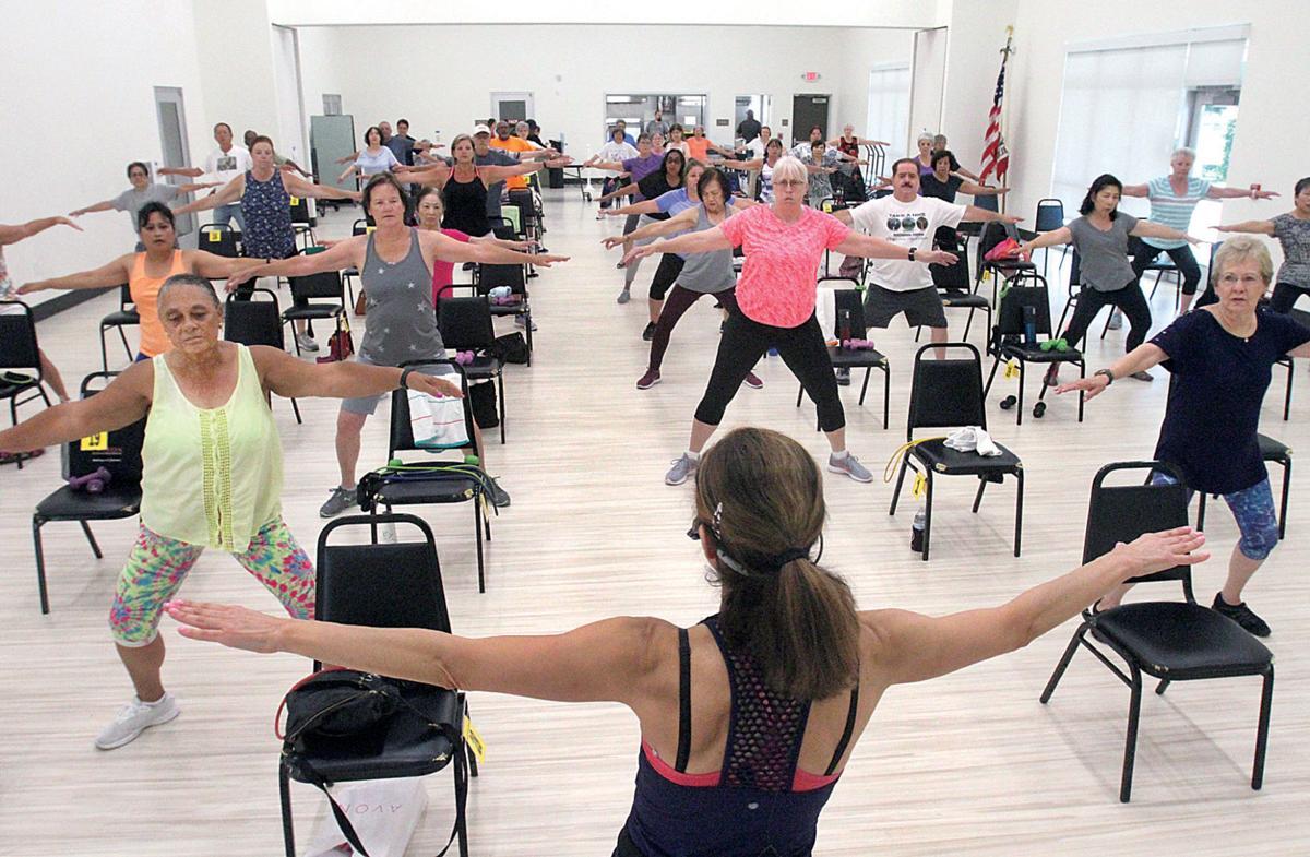 Senior center reopens