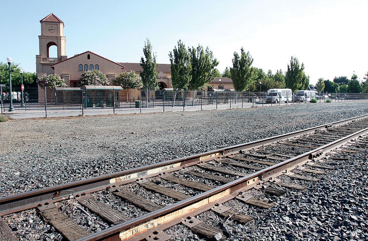 Commuter rail site