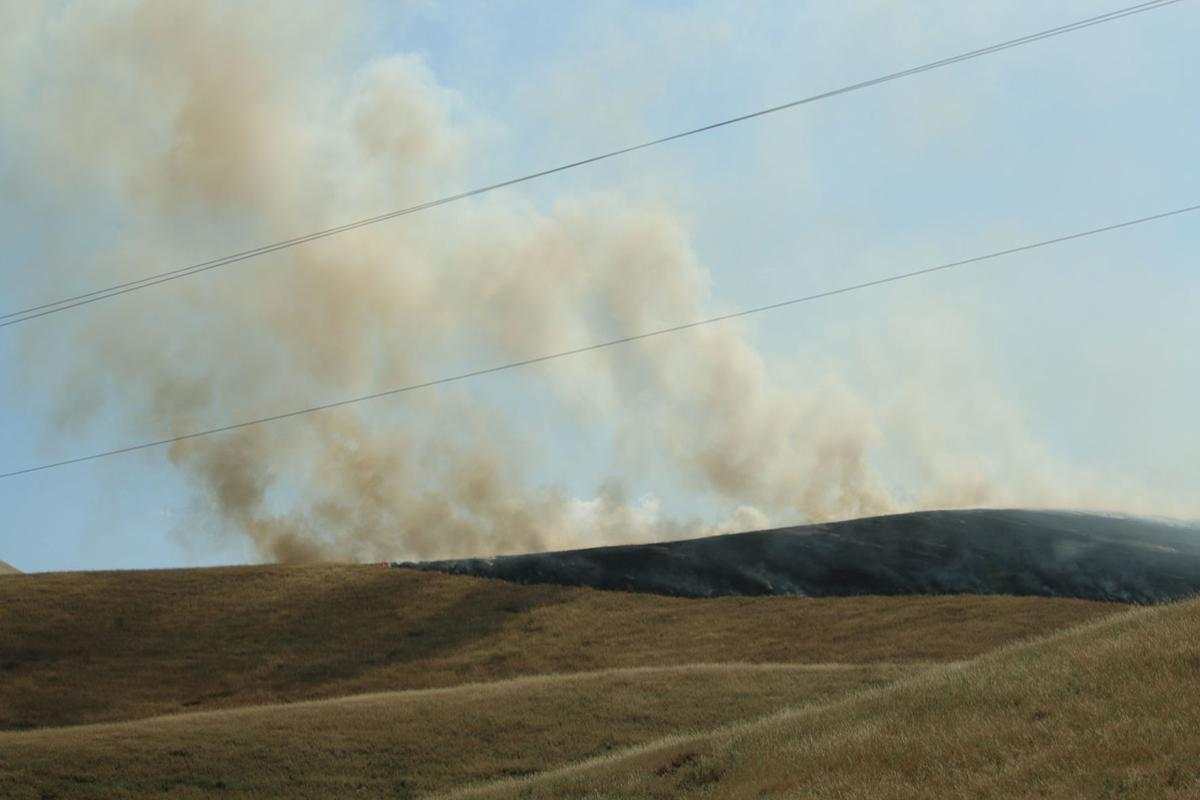 144-acre fire in Del Puerto Canyon