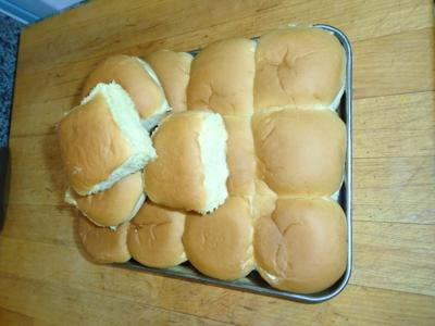 Aunt Betty's Parker House Rolls