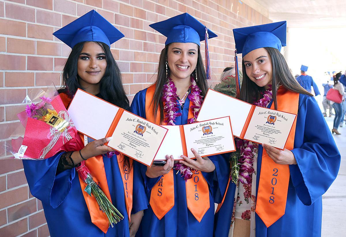 graduation celebration kimball high class of 2018 tracy press