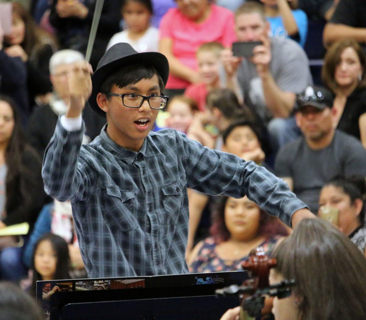 Budding Arranger / Conductor Kelvin Sokk